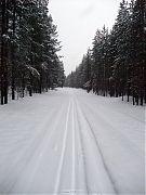 Трасса после снегопада